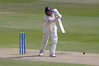 Simon Harmer in batting action for Essex during Warwickshire CCC vs Essex CCC, LV Insurance County Championship Group 1 Cricket at Edgbaston Stadium on 25th April 2021