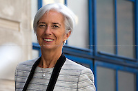 06.06.2014 - Christine Lagarde, Managing Director of the IMF, arrives at LSE