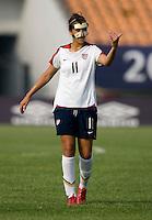 Carli Lloyd. The USWNT defeated, 2-0, at the Suwon Sports Center in Suwon, South Korea.