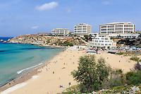 Golden Bay, Malta, Europa