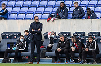 Bolton Wanderers' head coach Ian Evatt looks on <br /> <br /> Photographer Andrew Kearns/CameraSport<br /> <br /> The EFL Sky Bet League Two - Bolton Wanderers v Oldham Athletic - Saturday 17th October 2020 - University of Bolton Stadium - Bolton<br /> <br /> World Copyright © 2020 CameraSport. All rights reserved. 43 Linden Ave. Countesthorpe. Leicester. England. LE8 5PG - Tel: +44 (0) 116 277 4147 - admin@camerasport.com - www.camerasport.com