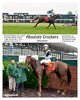 Absolute Crackers winning at Delaware Park on 6/24/13