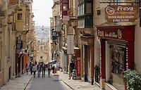 in Valletta, Malta, Europa, Unesco-Weltkulturerbe