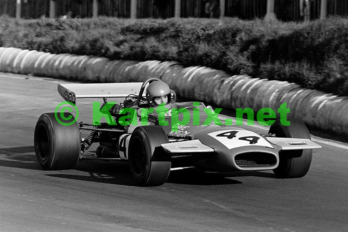 Dave Morgan - Edward Reeves Racing, Speed International Trophy 1971, Mallory Park.