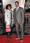 Denzel Washington and wife attends the Twentieth Century Fox's L.A. Premiere of Unstoppable held at Regency Village Theater in Westwood, California on October 26,2010                                                                               © 2010 Hollywood Press Agency