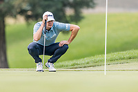 11th September 2020, Napa, California, USA;  Brendan Steele of the United States looks for his line during the second round of the Safeway Open PGA tournament on September 11, 2020 at Silverado Country Club in Napa, CA.