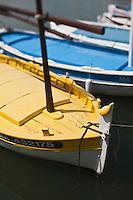 Europe/France/Provence-Alpes-Côte d'Azur/13/Bouches-du-Rhône/Cassis: les pointus du port de pêche