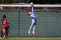 STANFORD, CA - October 21, 2018: Alison Jahansouz at Laird Q. Cagan Stadium. No. 1 Stanford Cardinal defeated No. 15 Colorado Buffaloes 7-0 on Senior Day.