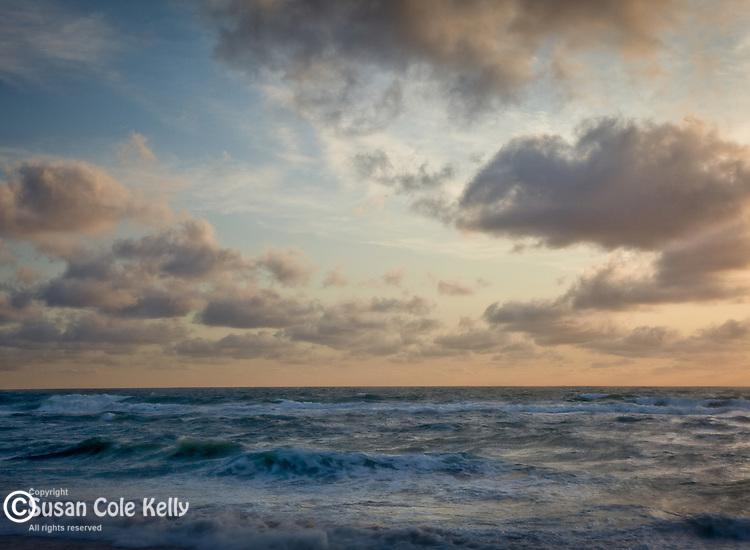 View of the Atlantic Ocean from Coast Guard Beach, Cape Cod National Seashore, Eastham, MA, USA