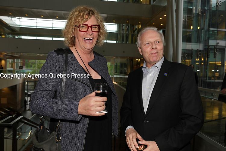 Michelle Blanc et <br /> Jean-Francois Lisee  au<br /> 13 ieme Gala Phenicia , 25 mai 2017