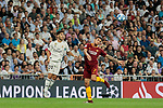 Real Madrid's Francisco Alarcon 'Isco' and AS Roma's Lorenzo Pellegrini during Champions League match. September 19, 2018. (ALTERPHOTOS/A. Perez Meca)
