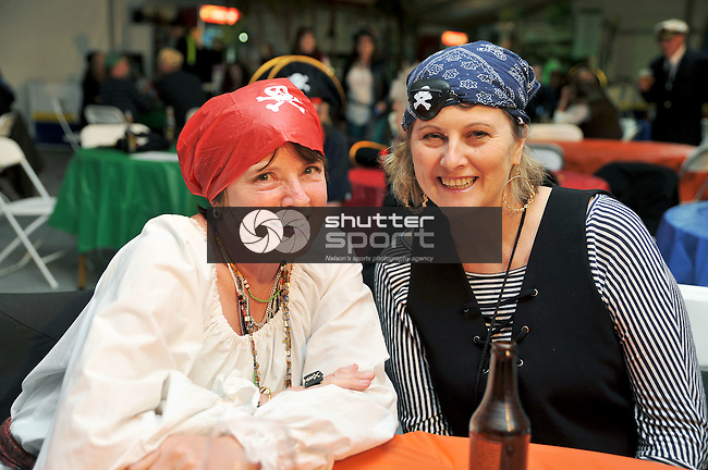 NELSON, NEW ZEALAND - SEPTEMBER 26: Shipwrecked Ahoy Party at Party Central Games Village Marquee at Saxton during the NZCT 2015 South Island Masters Games, September 26, 2015 in Nelson, New Zealand. (Photo: Chris Conroy/shuttersport.co.nz)
