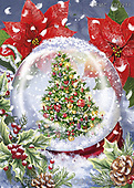 Marcello, CHRISTMAS SYMBOLS, WEIHNACHTEN SYMBOLE, NAVIDAD SÍMBOLOS, paintings+++++,ITMCXM2218,#xx#