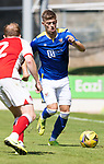 St Johnstone v Fleetwood Town…24.07.21  McDiarmid Park<br />Reece Devine<br />Picture by Graeme Hart.<br />Copyright Perthshire Picture Agency<br />Tel: 01738 623350  Mobile: 07990 594431