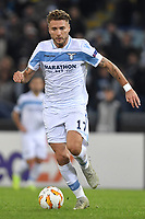Ciro Immobile of Lazio in action during the Uefa Europa League 2018/2019 football match between SS Lazio and Marseille at stadio Olimpico, Roma, November, 08, 2018 <br />  Foto Andrea Staccioli / Insidefoto