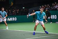 Rotterdam, The Netherlands, 11 Februari 2019, ABNAMRO World Tennis Tournament, Ahoy, first round doubles:  Philipp Kohlschreiber (GER) - Fernando Verdasco (ESP)  (L), Photo: www.tennisimages.com/Henk Koster