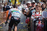 Daryl Impey (RSA/Mitchelton Scott), pre race<br /> <br /> Stage 3: Binche (BEL) to Épernay (FRA) (214km)<br /> 106th Tour de France 2019 (2.UWT)<br /> <br /> ©kramon
