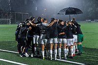 team Charleroi pictured before a female soccer game between  Racing Genk Ladies and Sporting du pays de Charleroi on the fourth matchday of the 2021-2022 season of the Belgian Scooore Womens Super League , friday 10 September 2021  in Genk , Belgium . PHOTO SPORTPIX   STIJN AUDOOREN