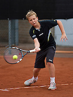 07-08-13, Netherlands, Rotterdam,  TV Victoria, Tennis, NJK 2013, National Junior Tennis Championships 2013, Luuk van Eeuwen<br /> <br /> <br /> Photo: Henk Koster