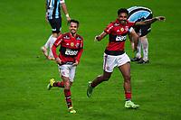 25th August 2021; Arena do Gremio, Porto Alegre, Brazil; Copa Do Brazil, Gremio versus Flamengo; Michael of Flamengo celebrates his goal with Vitinho in the 85th minute for 2-0