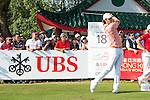 Peter Uihlein of USA tees off during the 58th UBS Hong Kong Golf Open as part of the European Tour on 11 December 2016, at the Hong Kong Golf Club, Fanling, Hong Kong, China. Photo by Marcio Rodrigo Machado / Power Sport Images