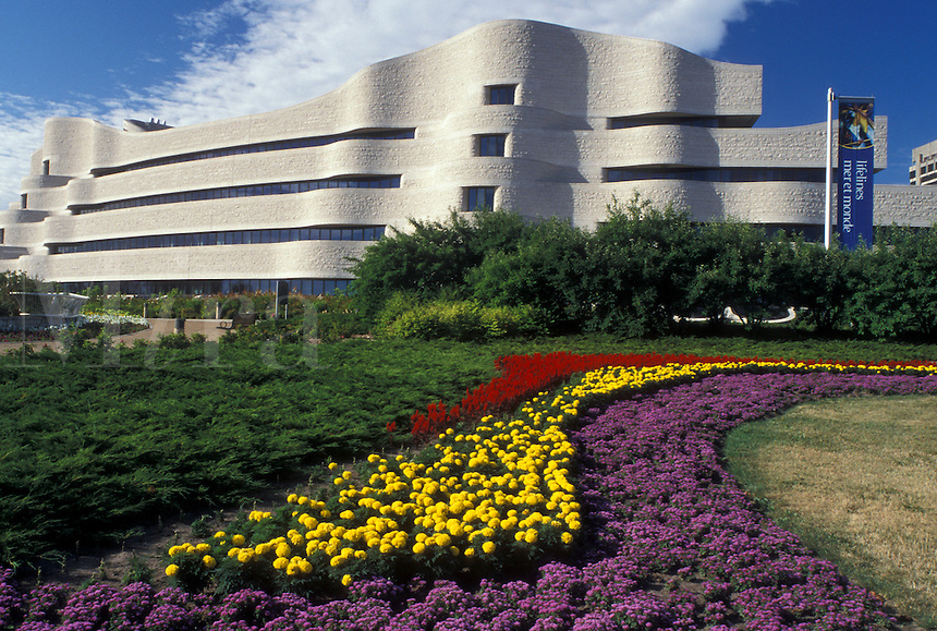 Hull, Canada, Quebec, Canadian Museum of Civilization (Musee Canadian des Civilisations) in the city of Hull.