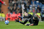 Real Madrid's Thibaut Courtois during UEFA Champions League match. December,12,2018. (ALTERPHOTOS/Alconada)