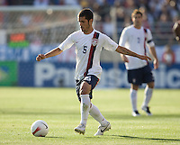 Benny Feilhaber dribbles. The USA defeated China, 4-1, in an international friendly at Spartan Stadium, San Jose, CA on June 2, 2007.
