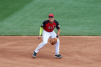 Team USA third baseman Richie Shaffer (8) during the MLB All-Star Futures Game on July 12, 2015 at Great American Ball Park in Cincinnati, Ohio.  (Mike Janes/Four Seam Images)