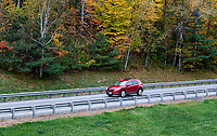 Scenic drive with autumn color.