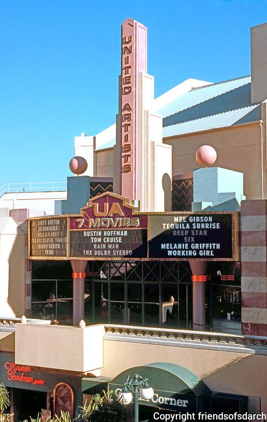 Jon Jerde: Horton Plaza--United Artists Theater. Photo '89.