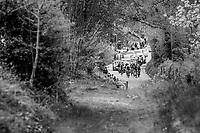 early breakaway group<br /> <br /> 52nd Amstel Gold Race (1.UWT)<br /> 1 Day Race: Maastricht › Berg en Terblijt (264km)