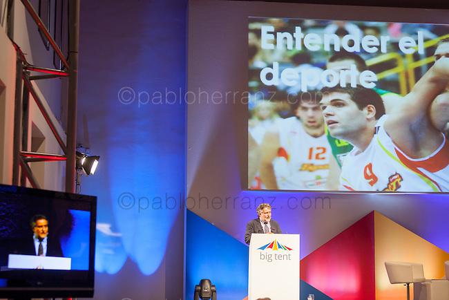 GOOGLEs BIG TENT EVENT AT FABRICA DE TAPICES, MADRID.