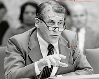 1979 FILE PHOTO - ARCHIVES -<br /> <br /> James Auld: Ontario energy minister says Hydro follows federal safety orders.<br /> <br /> Bezant, Graham<br /> Picture, 1979, <br /> <br /> 1979,<br /> <br /> PHOTO : Graham Bezant - Toronto Star Archives - AQP