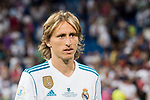 Luka Modric of Real Madrid reacts during their Supercopa de Espana Final 2nd Leg match between Real Madrid and FC Barcelona at the Estadio Santiago Bernabeu on 16 August 2017 in Madrid, Spain. Photo by Diego Gonzalez Souto / Power Sport Images
