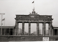 East & West Berlin Nov 1976 - <br /> <br /> Jeff Thomas Photography -  www.jaypics.photoshelter.com - <br /> e-mail swansea1001@hotmail.co.uk -<br /> Mob: 07837 386244 -<br /> <br /> The Brandenburg Gate <br /> <br /> These pictures were taken before the removal of the Berlin wall. Some of the pictures were taken through the window of a coach on a bitterly cold bleak November day. And some of the negatives have been damaged and not possible to clean thoroughly in case of further damage to them.