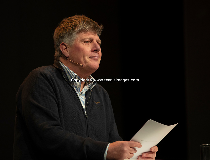 Nieuwegein, Netherlands, November 23,  2019, MBC Congrescentrum, KNLTB Year Congres , Frans Miggelbrink <br /> Photo: Tennisimages/Henk Koster