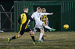 East Kilbride's Jack Smith scores the opening goal of the game
