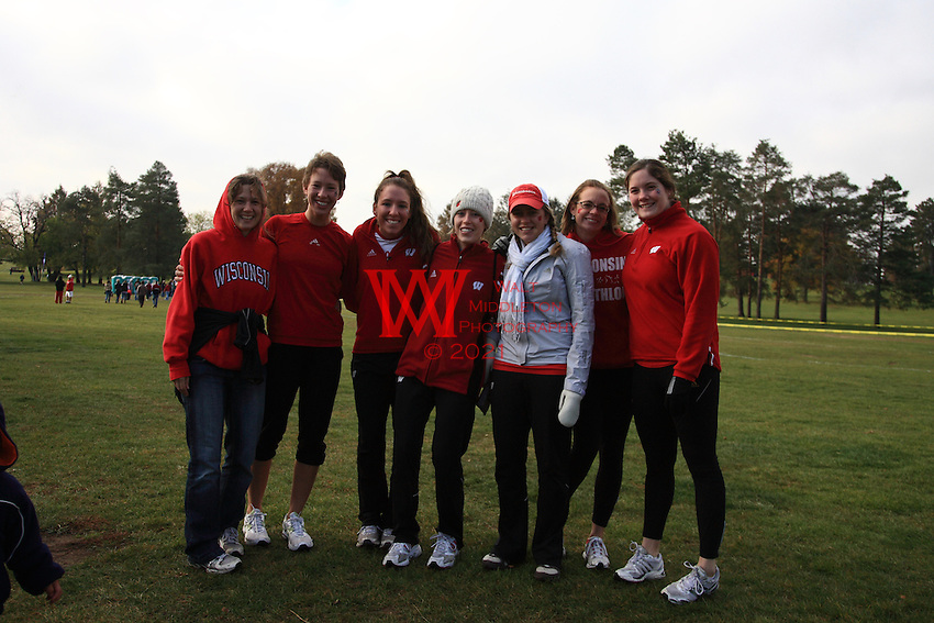 November 1st, 2008. The Big Ten Cross Country Championships held at University of Michigan Golf Club..