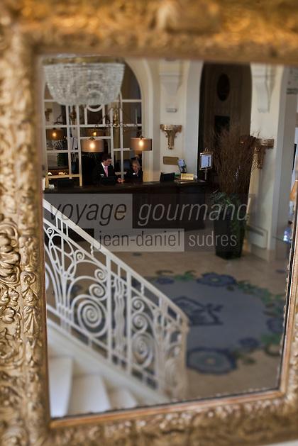 Europe/France/Rhône-Alpes/74/Haute Savoie/ Evian: Evian Royal Resort la réception