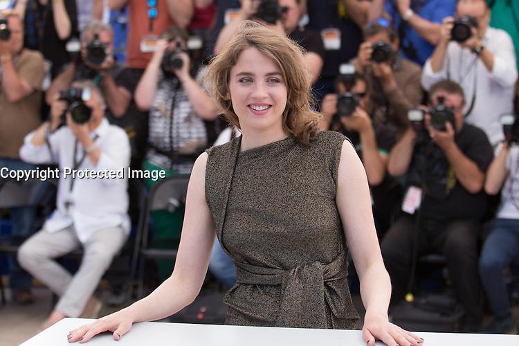 Adèle HAENEL - 69E FESTIVAL DE CANNES 2016 - PHOTOCALL DU FILM 'LA FILLE INCONNUE'