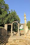 The ancient Roman Baths at Hamat Gader
