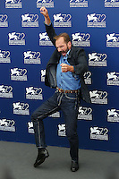 Ralph Fiennes attends a photocall for the movie 'A Bigger Splash' during the 72nd Venice Film Festival at the Palazzo Del Cinema in Venice, Italy, September 6, 2015. <br /> UPDATE IMAGES PRESS/Stephen Richie