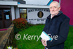 Dave Diggins who retired as caretaker at Holy Family NS in Tralee after 28 years