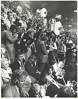 Claude Ryan les 14 et 15 avril 1978 lors  congres a la chefferie du PLQ, tenu a Quebec.<br /> <br /> <br /> <br /> PHOTO :  Agence Quebec Presse