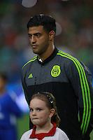 Carlos  Vela  ,durante partido entre las selecciones de Mexico y Guatemala  de la Copa Oro CONCACAF 2015. Estadio de la Universidad de Arizona.<br /> Phoenix Arizona a 12 de Julio 2015.