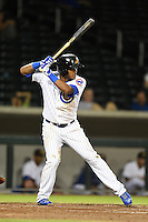 Mesa Solar Sox shortstop Addison Russell (9) during an Arizona Fall League game against the Peoria Javelinas on October 16, 2014 at Cubs Park in Mesa, Arizona.  Mesa defeated Peoria 6-2.  (Mike Janes/Four Seam Images)