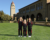 STANFORD, CA - OCTOBER 4, 2012.  Stanford Synchronized Swimming.