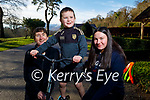 Enjoying a stroll in the Killarney National Park on Saturday, l to r: Catherine, Ronan and Sarah O'Neill