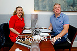 Enjoying the evening in Allo's Restaurant in Listowel on Friday, l to r: Orla and Donal Cremin from Killarney